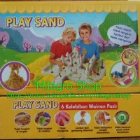 Play Sand (Mainan Pasir Ajaib / Pasir Kinetic / Kinetik)