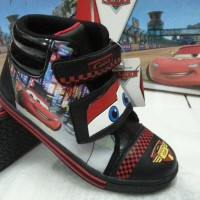 harga Sepatu Boot Anak Bergambar CARS Lisensi Disney Tokopedia.com