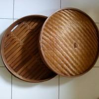 Dimsum Set 45cm, Klakat Bambu, Kukusan Dimsum / Siomay / Bakpao Bambu