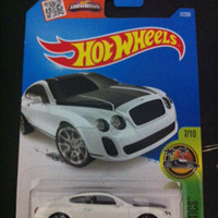 Hot Wheels Bentley Continental Supersports (White)