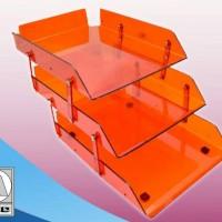 Elevated Paper Tray Model 603 (rak kertas 3 susun)