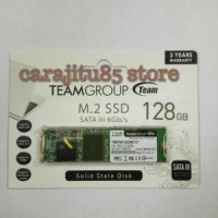 Team Ssd 128gb M2 Sata 2280 Tm8ps4128gmc101 Garansi