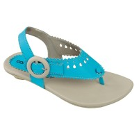 Sandal Anak Perempuan Model Jepit Biru Kalem - Sandal Anak ORI