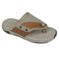 Sandal Anak Laki-laki Jepit Warna Cream- Sandal Anak ORI