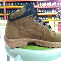 Sepatu safety kulit asli tanggulangin