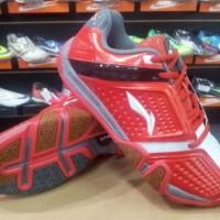 Sepatu Badminton Lining Hero NO1 Merah Putih AYZH 039-1 Original