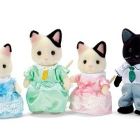 harga SYLVANIAN FAMILIES ORIGINAL 5181 - TUXEDO CAT FAMILY Tokopedia.com