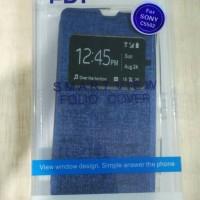 Flip Shell FDT - Sony Xperia ZR (C5502) (Blue)