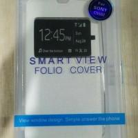 Flip Shell FDT - Sony Xperia ZR (C5502) (White)