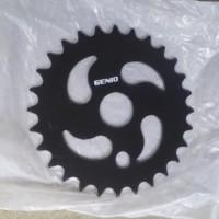 harga Gear/Gir/Crank BMX 28T merk Genio Tokopedia.com