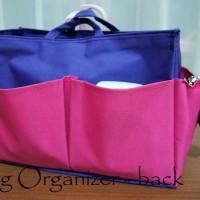 Bag Organizer Pink
