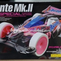 Tamiya Mini 4WD Avante Mk.II Pink Special Clearbody (MS chassis) 95061