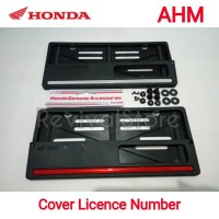 Cover Plat nomor by AHM (ORI)