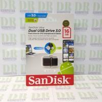 Flashdisk Sandisk OTG / Dual Drive 16GB ( SDDD2-16GB )