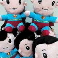 boneka superboy (man of steel/superman) superhero DC Comics yang bagus