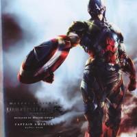Variant Play Arts Kai ORI Captain America Marvel Universe Avengers 2