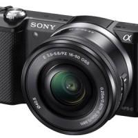 [PROMO] Sony Alpha 5000 / ILCE-5000 Kit 16-50mm Garansi Resmi MURAH!
