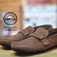 circle Mokacin Pria / Sepatu Casual / Sepatu Semi Formal Pria
