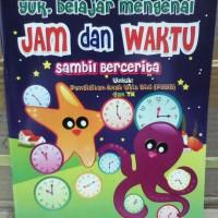 Buku Anak, Belajar Mengenal Jam dan Waktu sambil bercerita