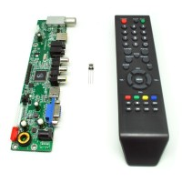 Universal LCD Controller Board TV Motherboard VGA / HDMI / AV / TV / USB