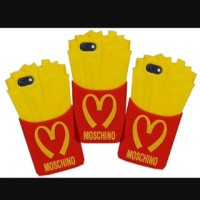 Case McDonald's Moschino French Fries Case iPhone 5/5s/5c iphone 4/4s