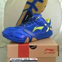 harga Sepatu Lining Saga X AYTJ083-3 BLUE Tokopedia.com