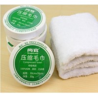 Cotton Compressed Towel Small 30 x 30 Cm