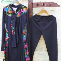 Baju renang JUMBO XXL / busana renang muslim wanita dewasa / motif