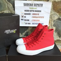 Converse Chuck Taylor II Salsa Red White Original New