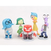 Mainan Anak - Inside Out Figurines 5 pcs set