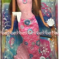 Barbie Original Barbie Marmaid Dools Barbie Putri Duyung Ungu Pink 2
