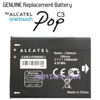Battery ALCATEL OneTouch Pop C3 : GENUINE CAB31P0000C1