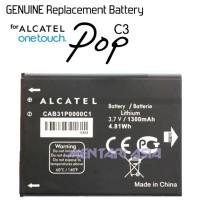 Battery ALCATEL OneTouch Pop C3 : GENUINE CAB31P0000C1