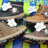 988 import sepatu children boot bot bulu anak model docmart (dr marten