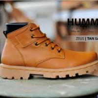 Free Bonus !!! Sepatu Boots Hummer Zeus Kulit Licin Outdoor Adventure