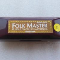 Harmonica Diatonic Suzuki Folkmaster