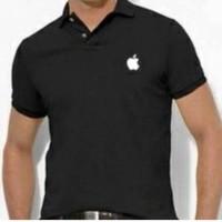 Polo shirt/ Tshirt/ Kaos/ Baju kerah/ Kaos kerah Apple