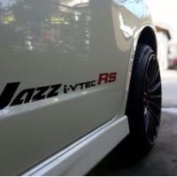 Stiker Honda Jazz Fit Freed Brio i-vtec RS