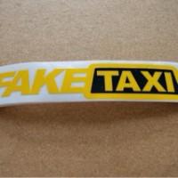 Stiker Lucu FAKE TAXI