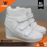 Jual sneaker wedges whitty Murah