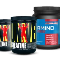 Prolab Amino 2000,325tabs + Universal Creatine(200+200g) Rp 996.000