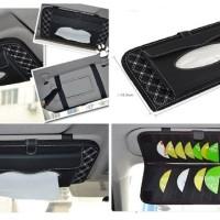Sunvisor Tissue CD Holder sun visor tempat tissu mobil car organizer