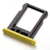 iPhone 5C Yellow SIM Card Slot Tray Sim Card Holder