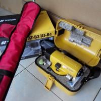 Waterpas Topcon AT-B4 Paket Tripod Dan Bak Ukur
