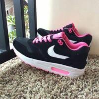 sepatu nike air max woman cewek hitam putih pink vietnam 36-40