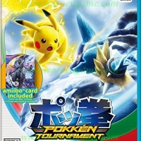 Wii U Pokken Tournament (FREE Amiibo Card) R1