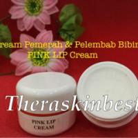 Cream Bibir Theraskin--cream pemerah dan pelembab bibir--pink lip crm