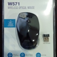 JUAL TARGUS AMW571 Black Wireless Optical Mouse