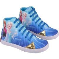 Jual Sepatu Sekolah Anak Perempuan Gambar Frozen NAJ 5334 Murah