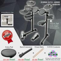 Drum Elektrik Yamaha DTX400K with XtraPad/ DTX400 / DTX 400 / DTX 400K